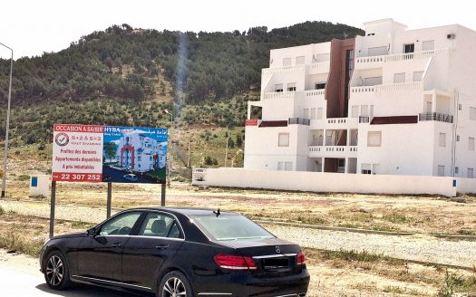 vente terrain bord Cédria Tunisie